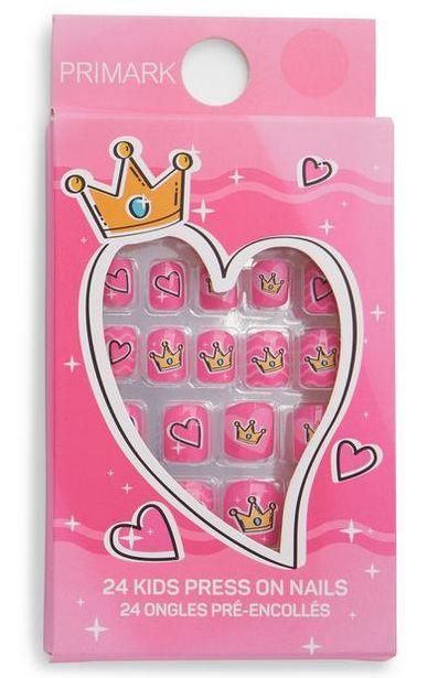 Princess Press On Nails offer at $2