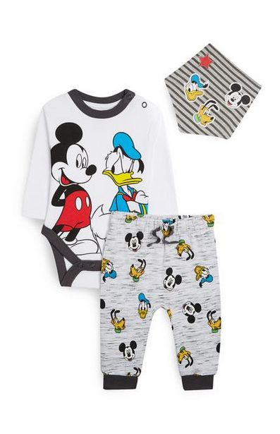 3-Piece Mickey Mouse And Donald Duck Set offer at $12