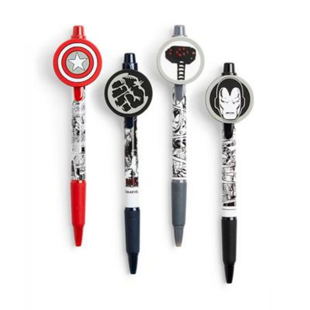 4-Pack Marvel Pens deals at $4