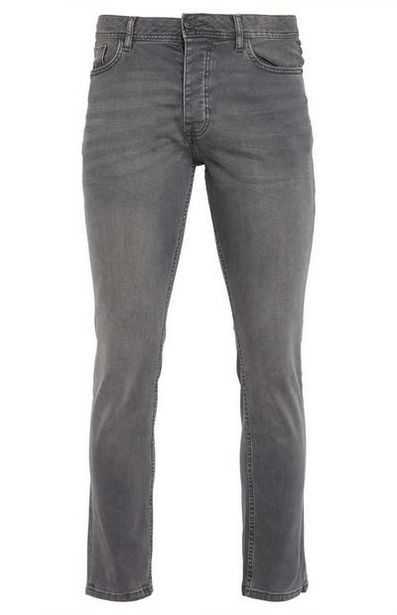 Gray Slim Fit Jeans offer at $16