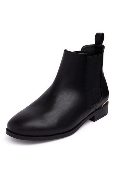 Black Chelsea Boots offer at $17