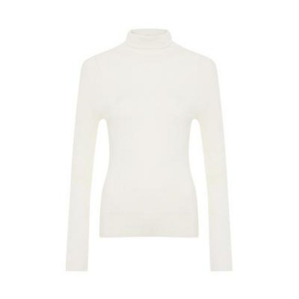 White Roll Neck deals at $10