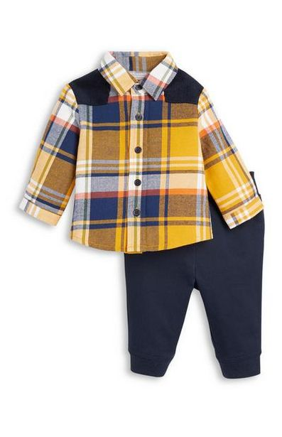 Baby Boy Shirt and Joggers Set offer at $18