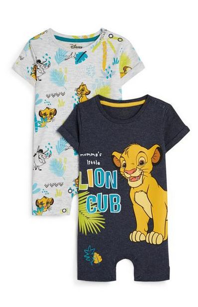 2-Pack Baby Boy The Lion King Rompers offer at $12