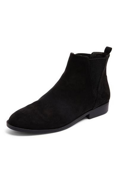 Black Chelsea Boots offer at $12