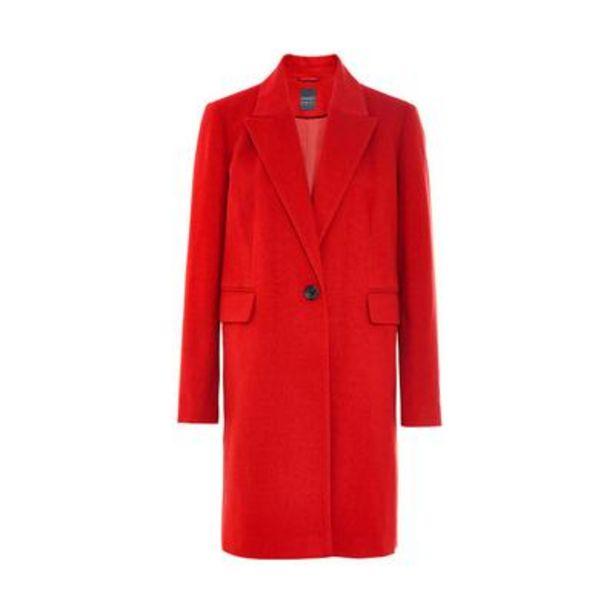 Red Essential 3/4 Coat deals at $28