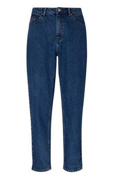 Dark Blue Mom Jeans offer at $20