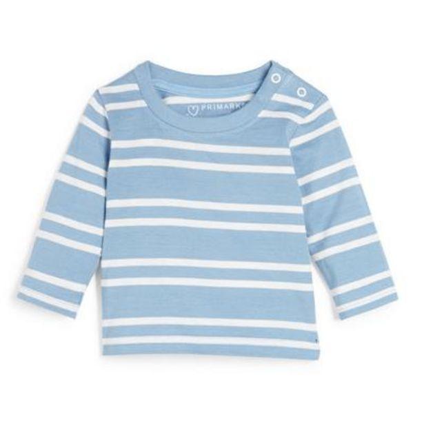 Baby Boy Blue Striped Long Sleeve T-Shirt deals at $3