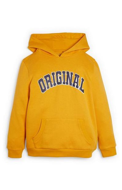 Older Boy Yellow Hoodie offer at $7