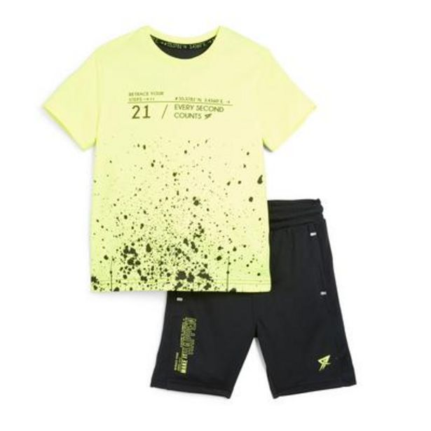 Younger Boy Neon Paint Splat Active Set deals at $13