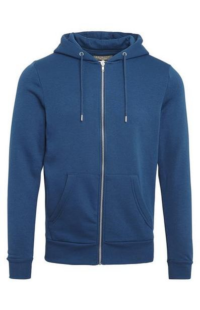 Teal Classic Zip Hoodie offer at $10
