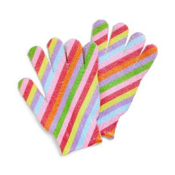 Mood Boost Rainbow Exfoliating Gloves deals at $2.5