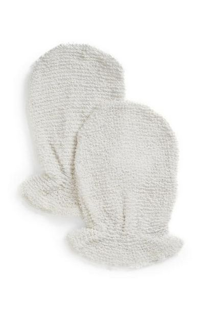 2-Pack White Bamboo Mitts offer at $3