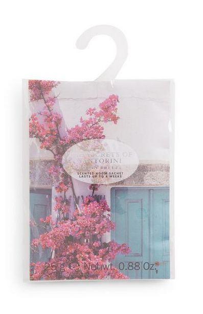 The Secret Of Santorini Printed Scented Room Sachet deals at $1.5