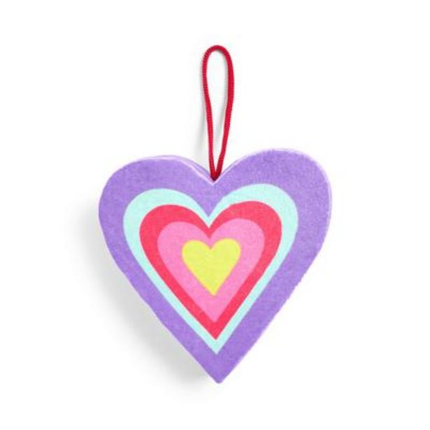 Mood Boost Heart Shaped Hanging Body Sponge deals at $3