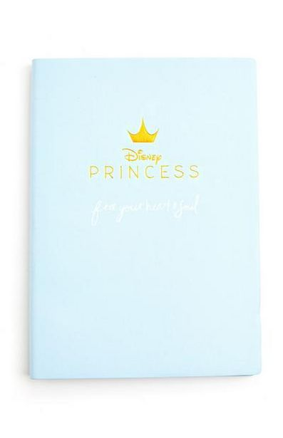 Blue Disney Princess A5 Notebook offer at $3.5