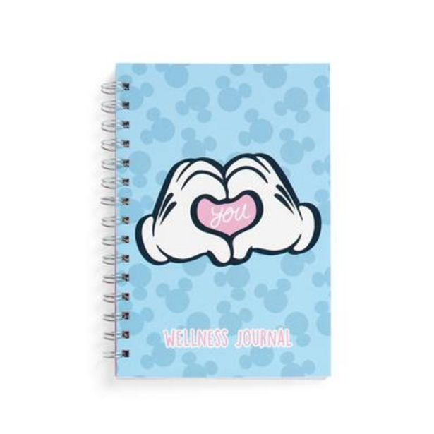 Blue Mickey Mouse Wellness Journal deals at $4