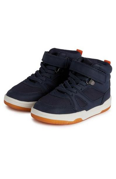 Younger Boy Navy High Tops offer at $16