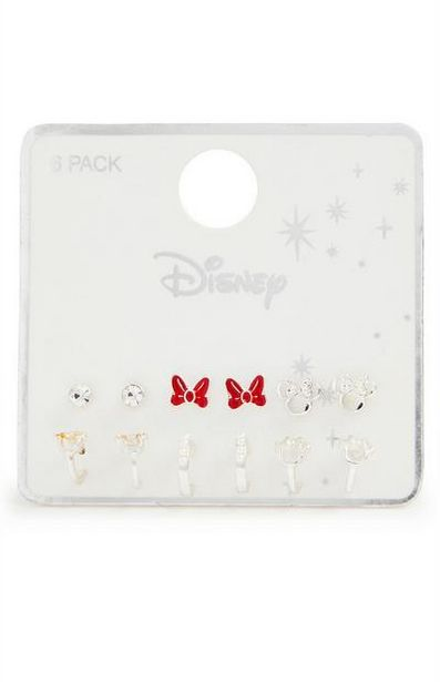 6-Pack Disney Huggie Stud Earrings offer at $4