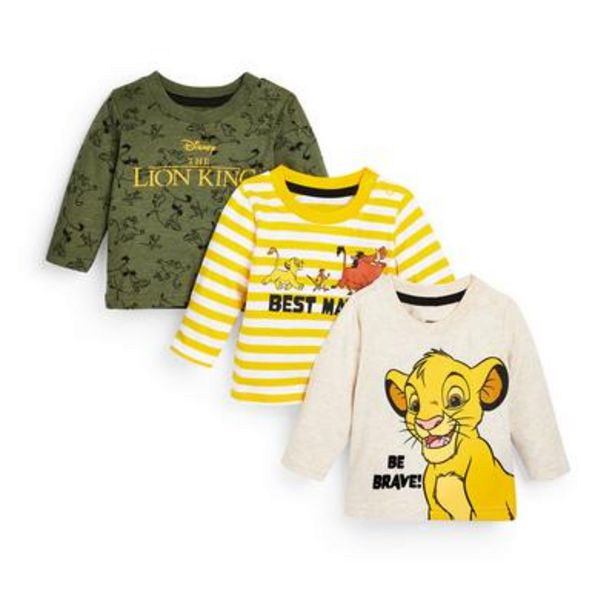 3-Pack Baby Boy The Lion King T-Shirts deals at $13