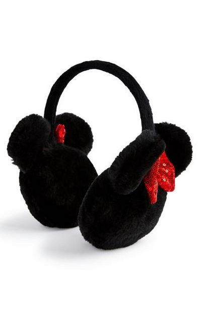 Black Minnie Mouse Earmuffs offer at $7