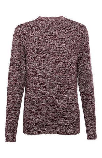 Moss Stitch Sweater offer at $15