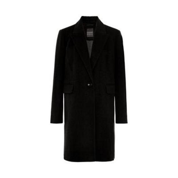 Black Essential 3/4 Coat deals at $28