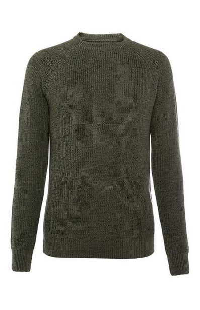 Gray Textured Sweater offer at $15