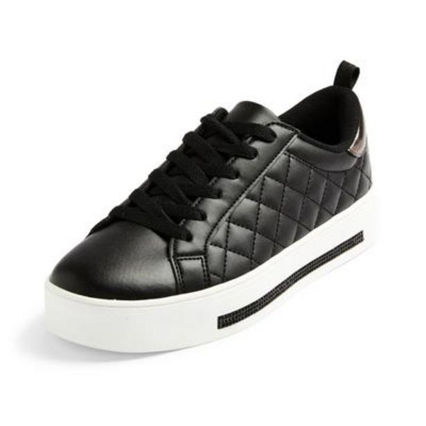 Black Diamond Quilted Low Tops deals at $18