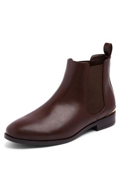 Brown Chelsea Boots offer at $17