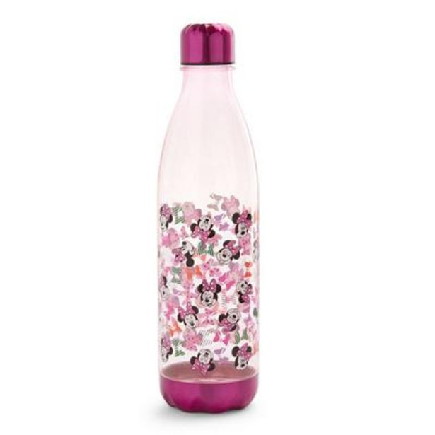 Pink Disney Minnie Mouse Water Bottle 1L deals at $7