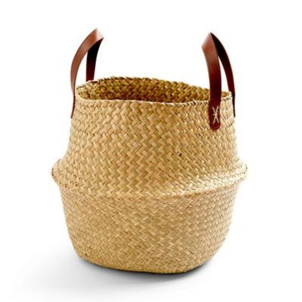 Large Woven Collapsible Basket deals at $10