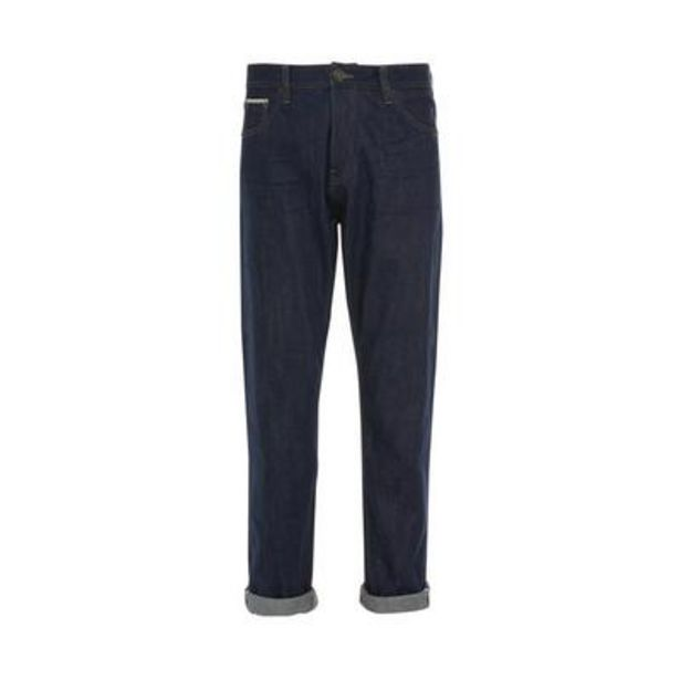 Navy Rinse Relaxed Stronghold Jeans deals at $40
