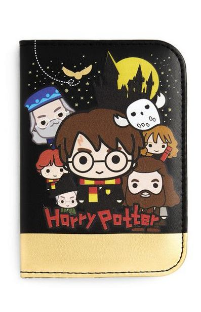 Harry Potter Black And Gold Passport Cover offer at $5