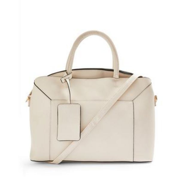 Ivory Raised Insert Tote deals at $18