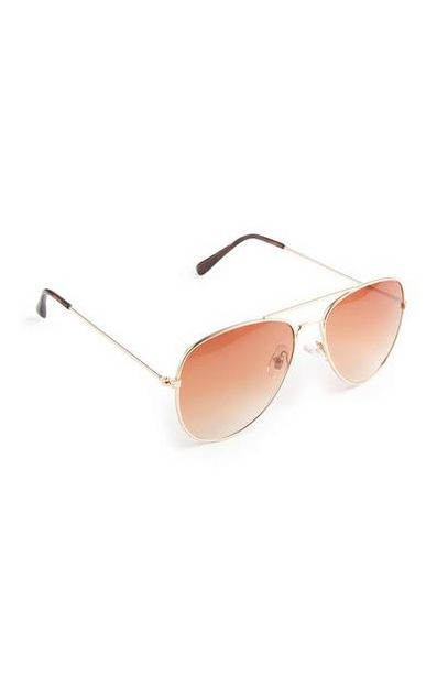 Brown Aviator Sunglasses offer at $2.5