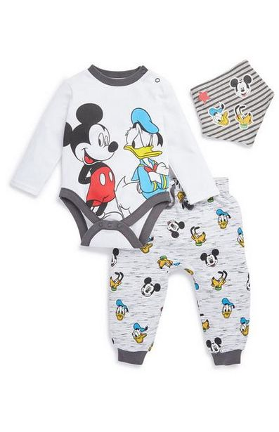 Mickey Mouse and Donald Duck 3-Piece Set offer at $12