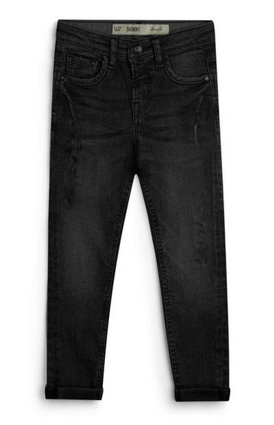 Younger Boy Twill Black Jeans offer at $8