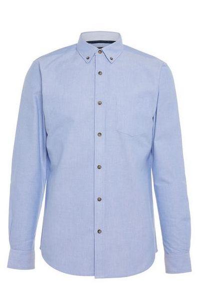 Blue Classic Oxford Shirt deals at $16