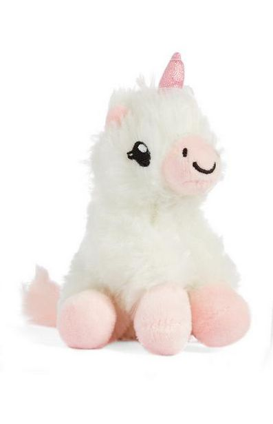 White And Pink Lily The Unicorn Toy deals at $3