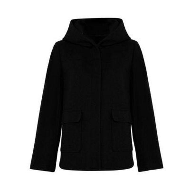 Black Essential Duffel Coat deals at $30