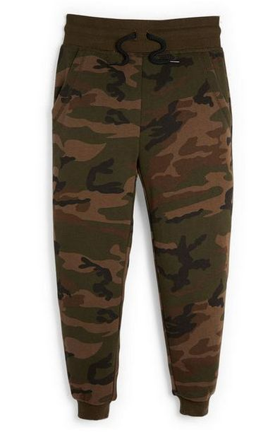 Younger Boy Olive Camo Joggers deals at $7