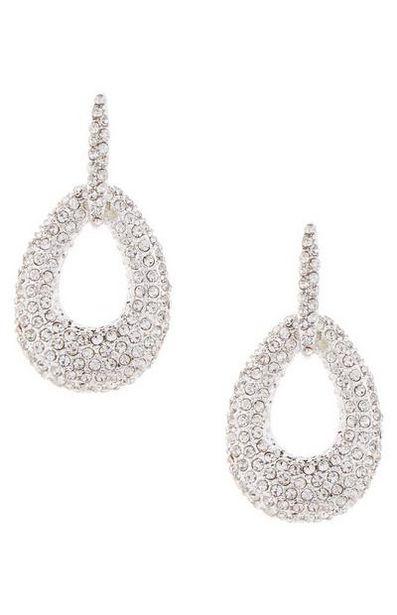 Rhinestone Knocker Earrings offer at $5