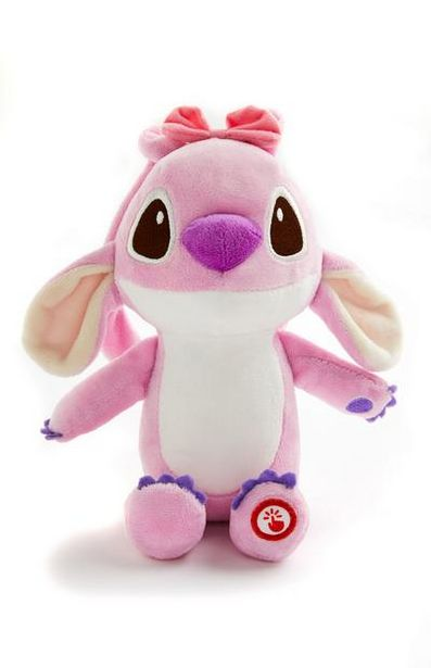 Pink Small Disney Lilo And Stitch Plush Toy deals at $7