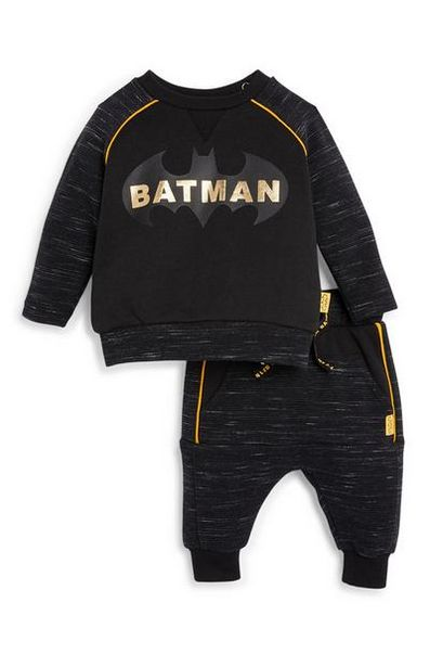 Baby Boy Batman Sweater and Joggers Set offer at $16