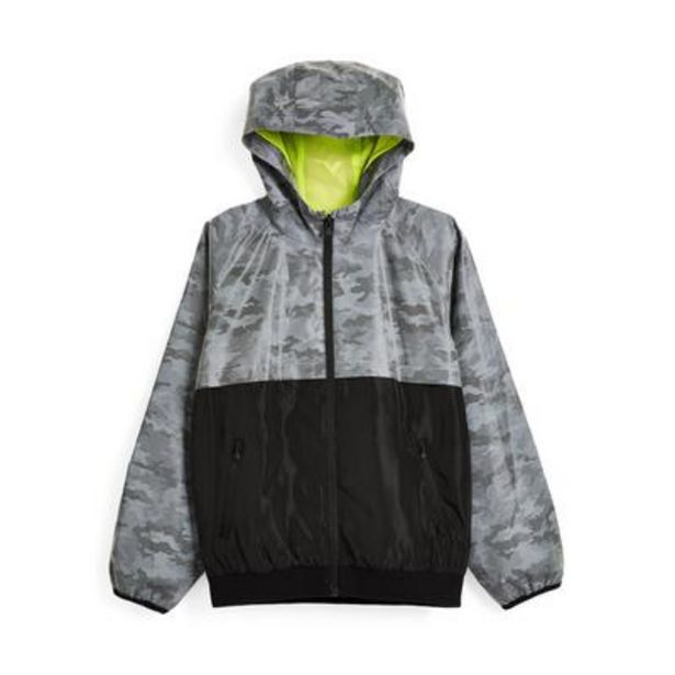 Older Boy Gray Reflective Track Jacket deals at $19