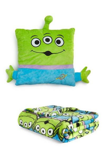 Toy Story Aliens Cushion And Throw Set offer at $16