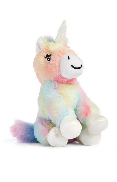 Multicolor Unicorn Plush offer at $4.5