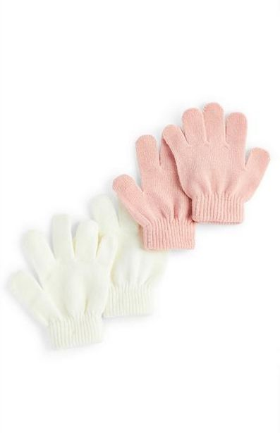 Pink And White Magic Gloves offer at $1.5