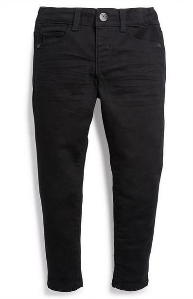 Younger Boy Black Twill Pants offer at $8